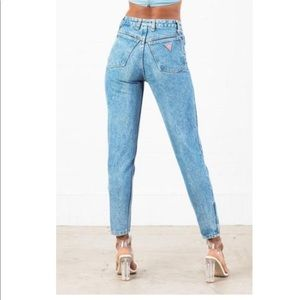 Guess mom high waisted jeans
